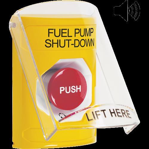 Ylw Trn To Reset Ss W/Shld &Sndr-Fuelpump Shutdown