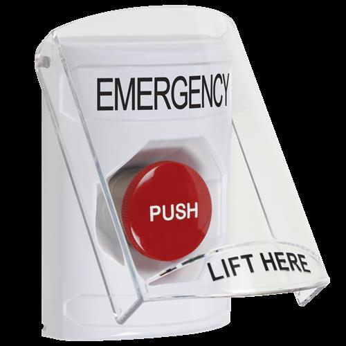 Ss-Wht 6517 Cvr Mntry Emergency -English