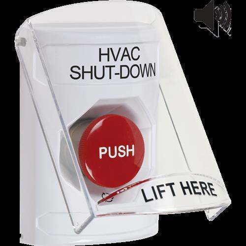 Safety Technology White Turn To Reset Stpr St W/Shield & Sounder