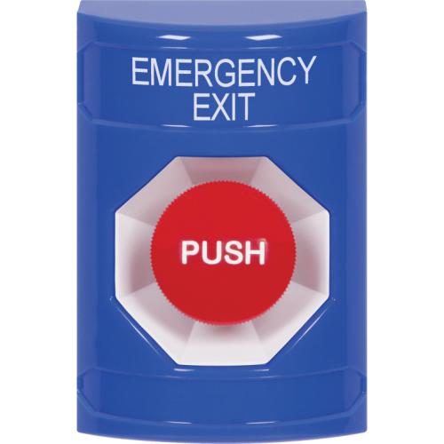 Safety Technology Blu Stppr Sta, Univ Cvr, Flsh, W/Horn, Push & Ktr