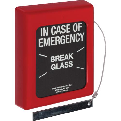 Break Glass Stopper, Large, Emergency