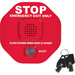 Exit Stop Multi Function Door Alarm W/Momentary Rs