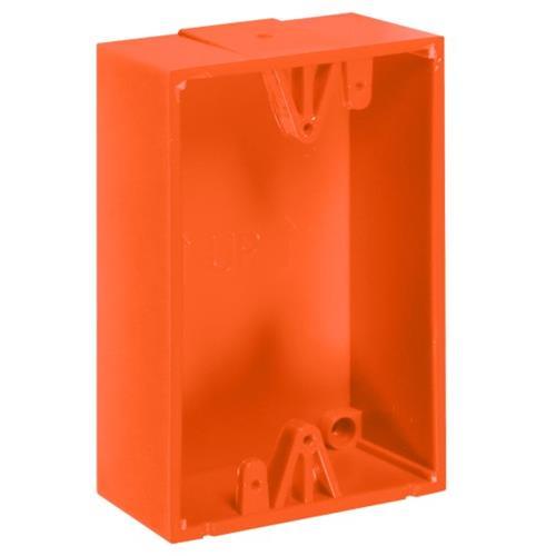 """Backbox Kit Orange 1.5"""" Deep"""