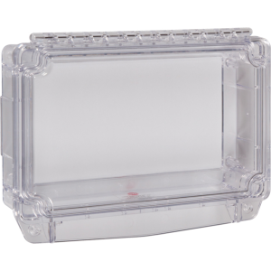 Polycarbonate Cover W/ Open Backbox