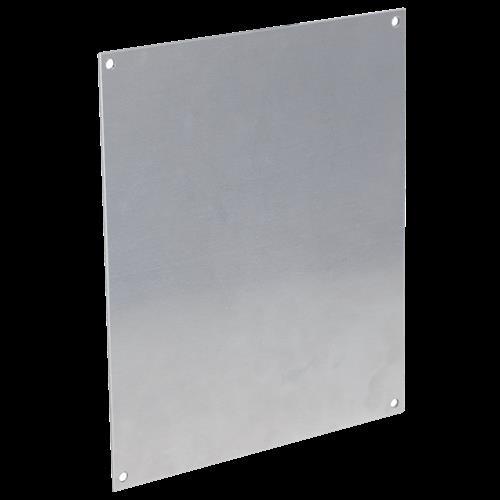 "Back Plate Aluminum For Enclosure 12"" X 10""-10.88"