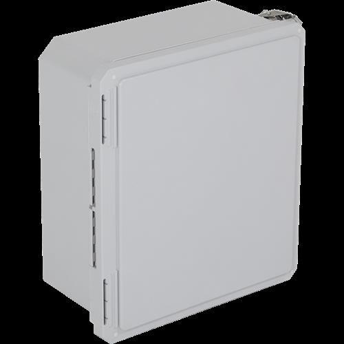 "Safety Technology Enclosure Fiberglass, 14"" X 12"" X 6"", Opaque"