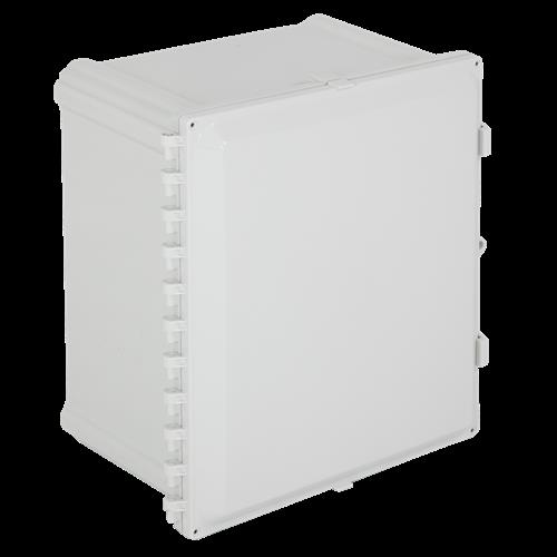 """Safety Technology Enclosure Polycarbonate, 20"""" X 16"""" X 8"""", Opaque"""