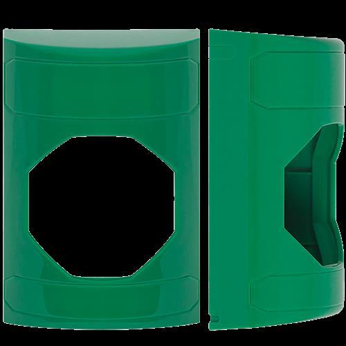 Safety Technology Green Stopper Station Shell Blank W/ Custom Label