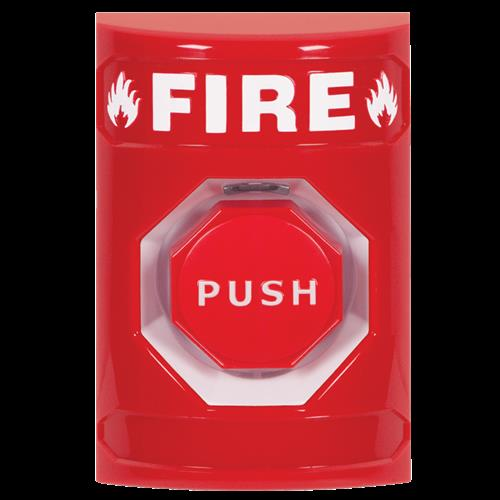 Safety Technology Key To Reset Labeled Fire W/2 Form C Contacts