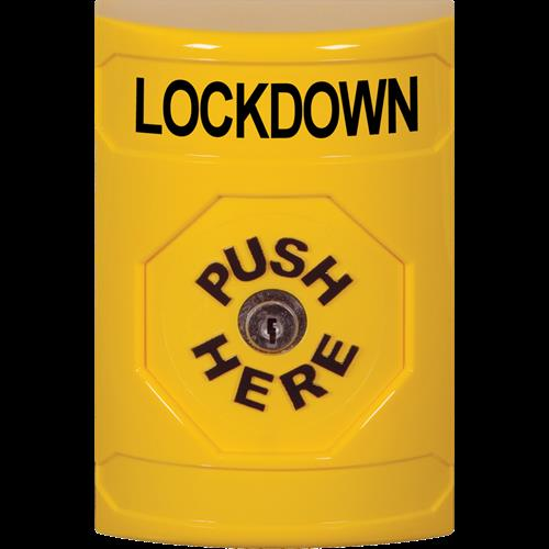 Ylw Key To Reset Stpr St NO Cvr 'lockdown' Text