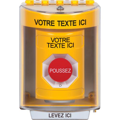 Yllw Stppr Sta, Sti-13210 Cvr, Ttr Custom Lbl French