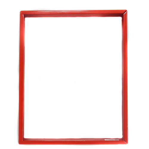 Silent Knight Mounting Ring for Annunciator - Red