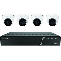 Speco 4 Channel Surveillance Kit with Four 5MP IP Cameras