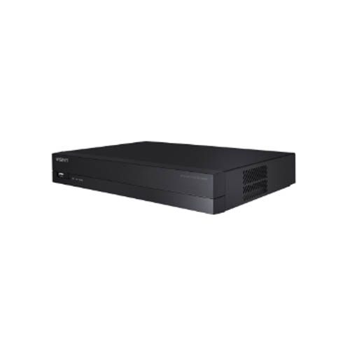 Wisenet 8Channel 8MP NVR with PoE switch