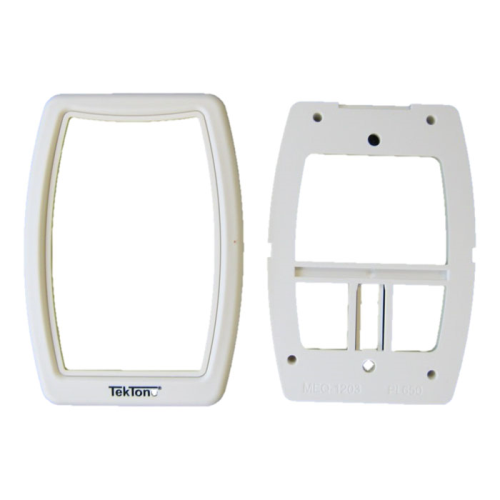 TekTone IH121K Single Station Mounting Kit with Bezel & Plate for SF-Series Stations