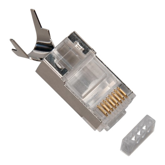 Platinum Tools RJ45 Cat6A 10 Gig Shielded w/Liner, Stranded. 50/Clamshell
