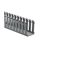 """Slotted 2""""x3""""  Gray Duct Bulk   6ft"""
