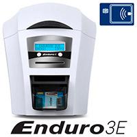 Magicard Enduro3E Double Sided Dye Sublimation/Thermal Transfer Printer - Color - Desktop - Card Print