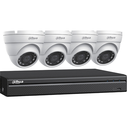 Dahua 4MP HDCVI Security System