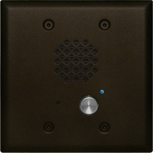 Viking Electronics Double Gang Oil Rubbed Bronze Entry Phone with Enhanced Weather Protection