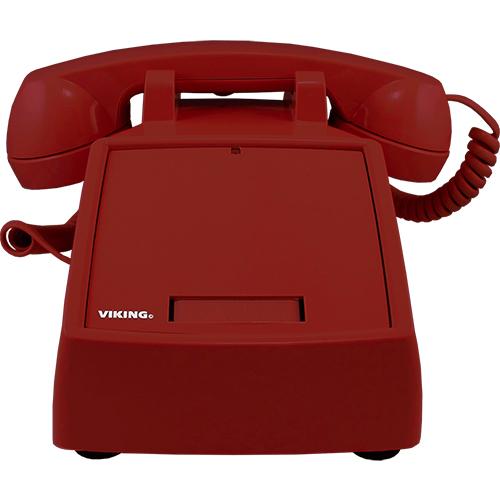 Viking Electronics K-1900D-2 Standard Phone - Red