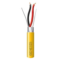 Genesis 46061002 16/2 Solid Shielded Plenum 1000 Rl Yellow