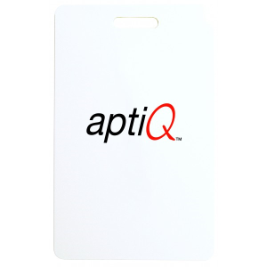 Aptiq MIFARE Smart Card 2.5 Bit Iso Glossy White