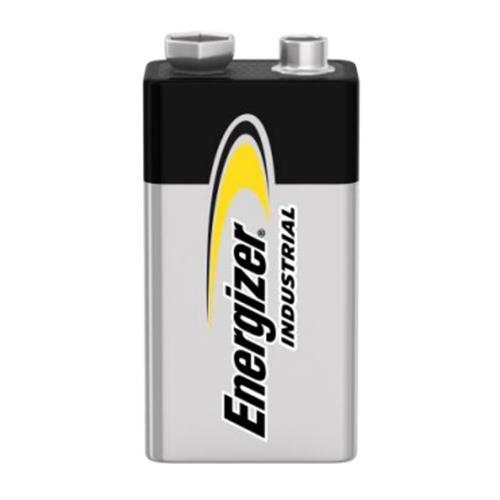 Energizer Industrial Alkaline 9V Batteries, 12 pack