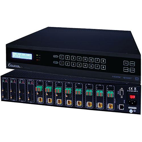 Vanco EVMX4K08 Evolution HDBaseT 4K 8×8 Matrix Selector Switch